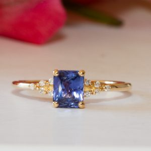 Emilia Purple Sapphire Ring