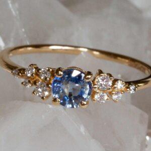 Mirabella Ceylon sapphire ring